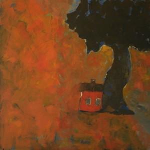 Litet rött hus
